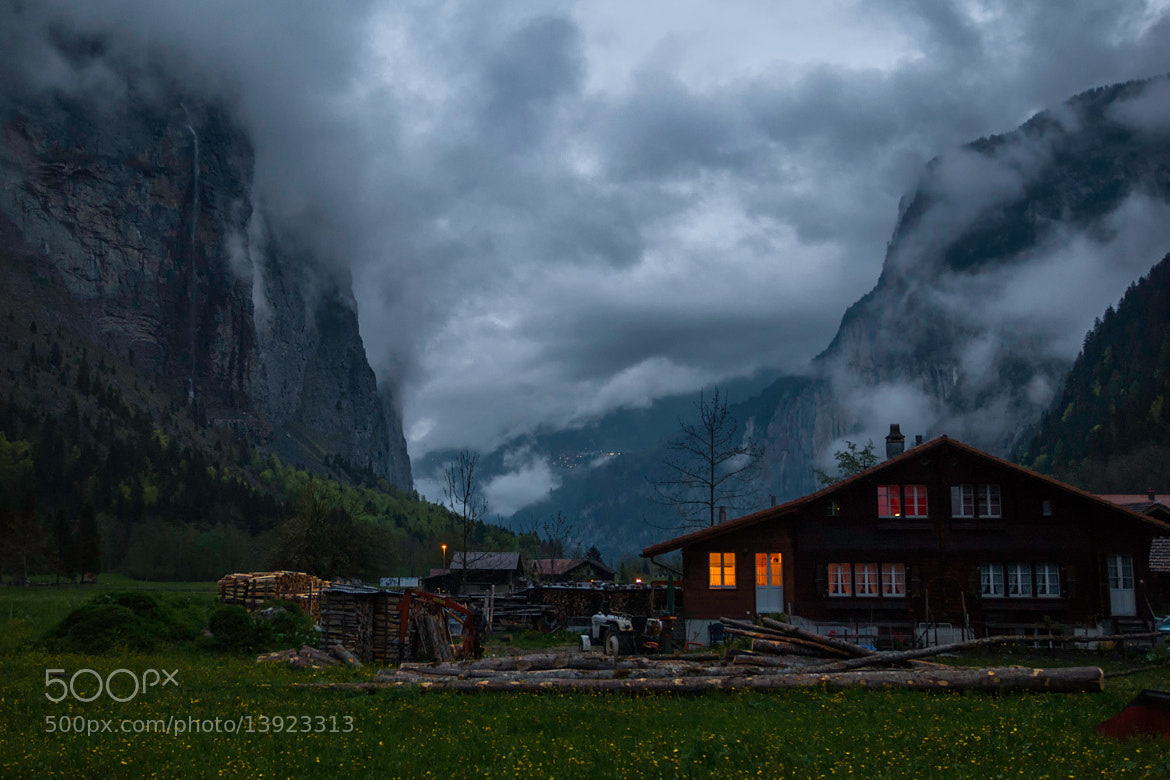 Photograph An Evening in the Valley (Stechelberg, Switzerland) by James Clear on 500px