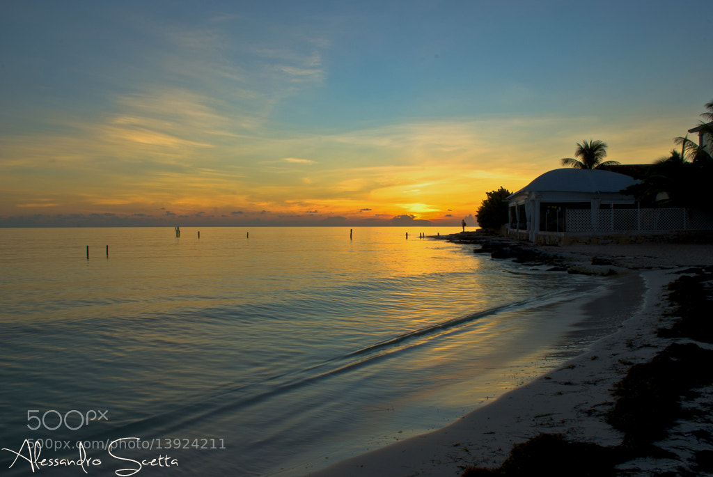 Photograph Cancun Sunrise 15/09/2012 by AlesSandro Scetta on 500px