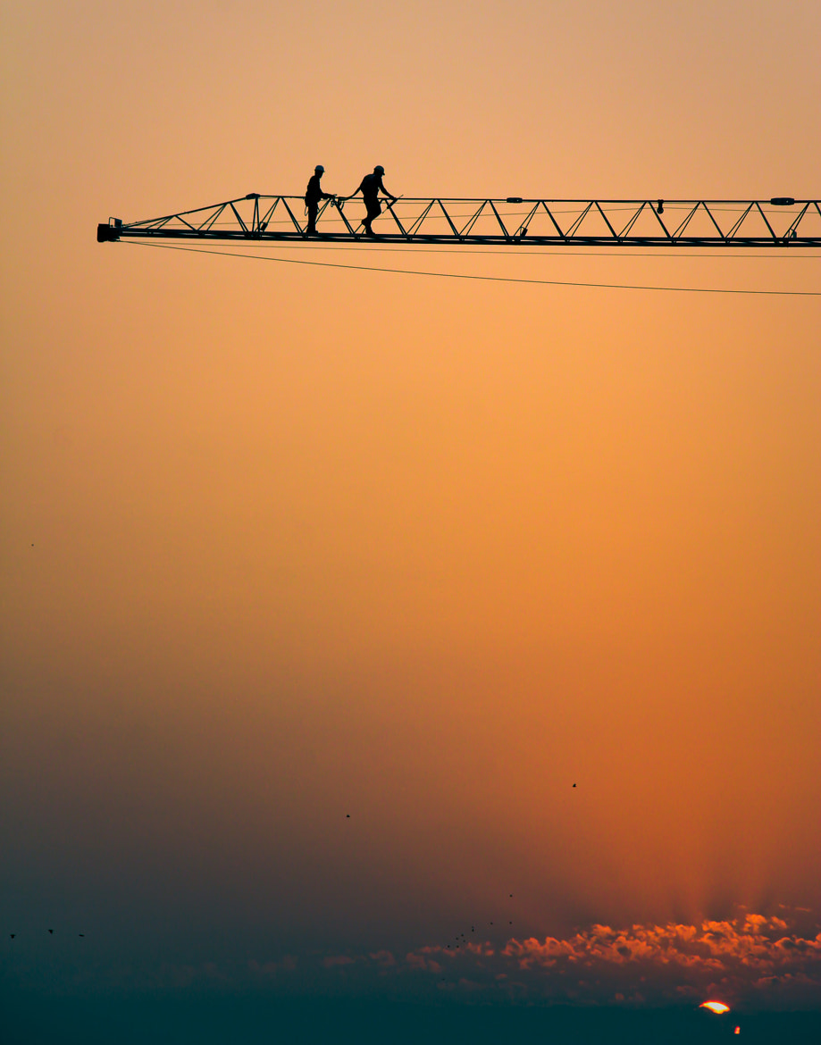 Photograph I'll keep building till you come around by Mateus Lunardi Dutra on 500px