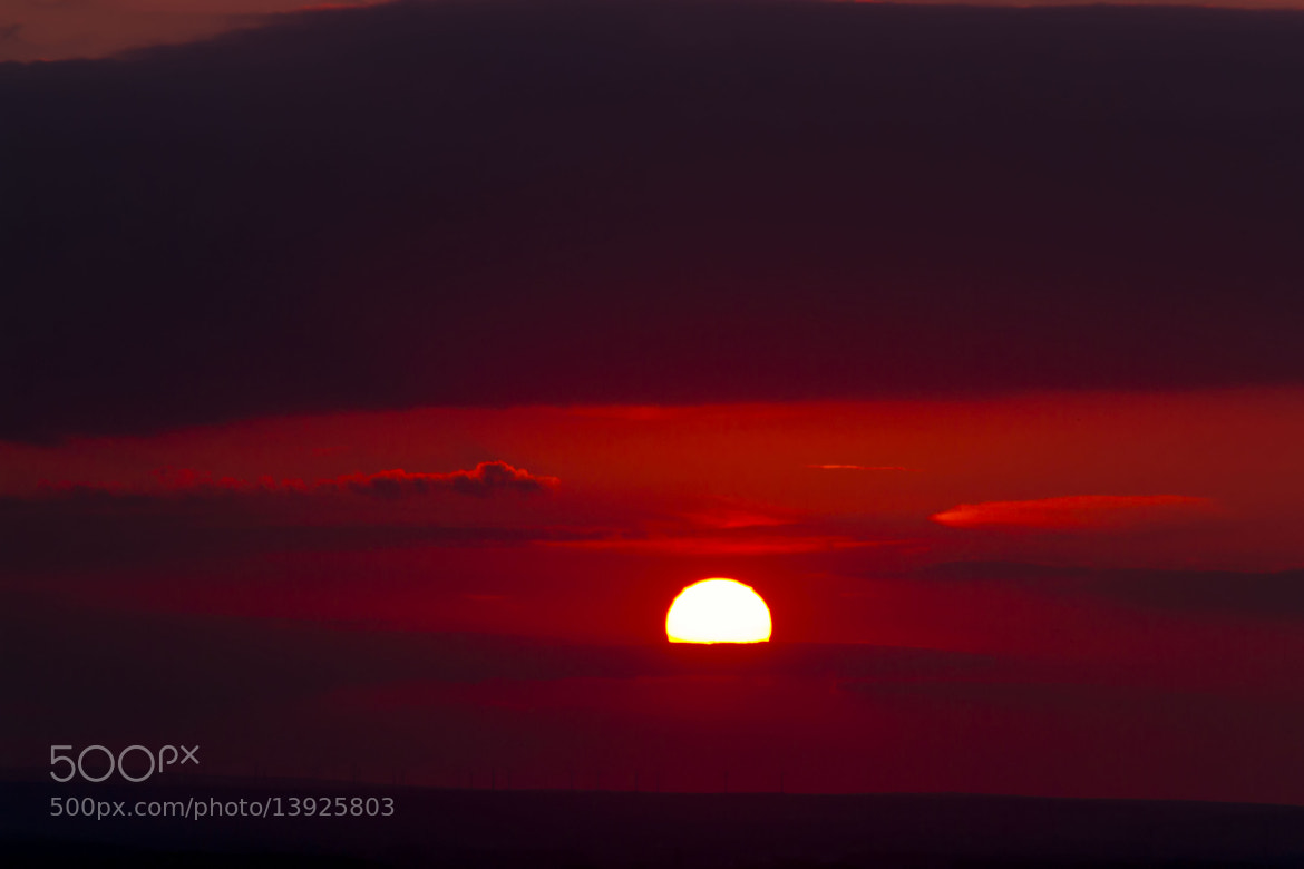 Photograph The Sun goes down by Sascha Reichhardt on 500px