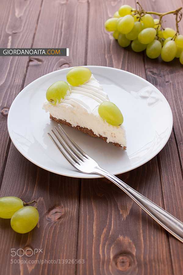 Photograph Yoghurt cake with grape by Giordano Aita on 500px