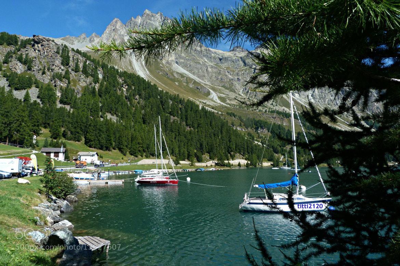 Photograph Lago di Sils.Alta Engadina by Maria Fornaca on 500px