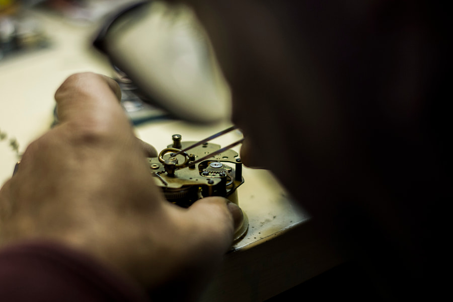 DADDY WORKING, WATCHMAKER by CRISTINA MINCHERO on 500px.com