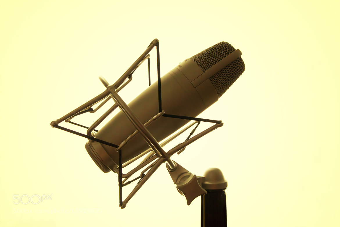 Photograph Microphone by Ash Furrow on 500px