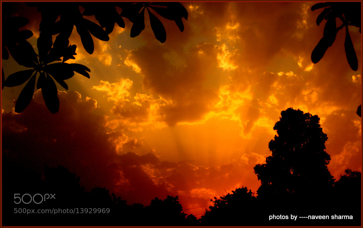 Photograph morning clouds n sunrise by naveen sharma on 500px