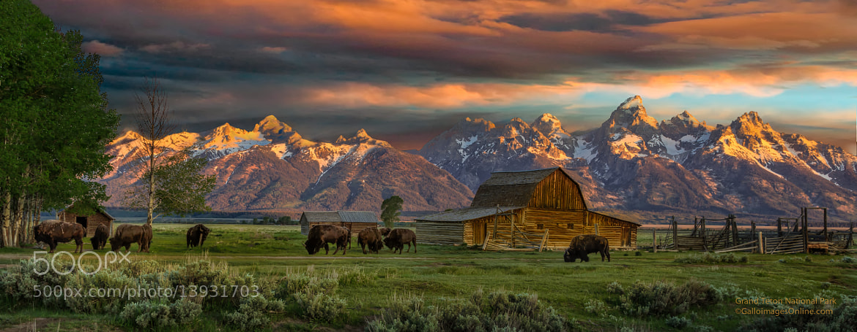 Photograph Teton Sunrise by Mark Perry on 500px