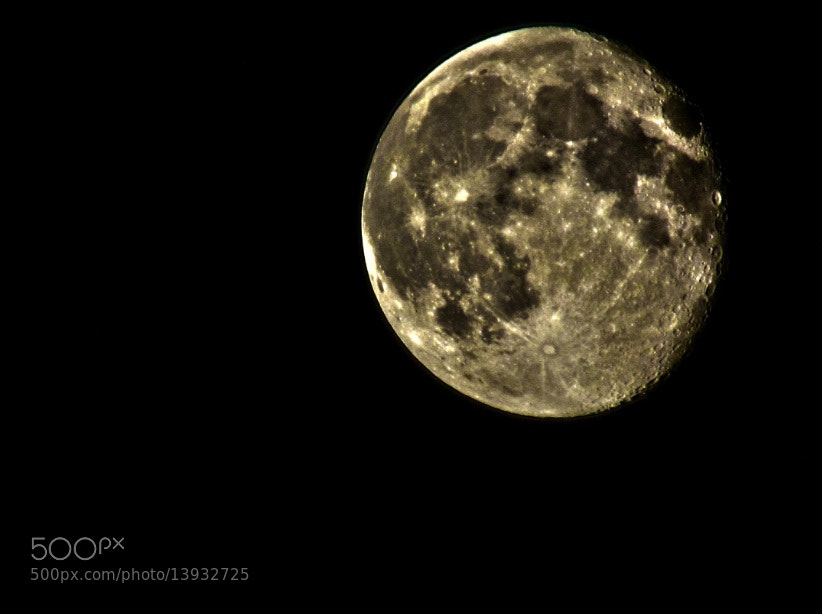 Photograph shiny moon by Zahra Darivandi on 500px
