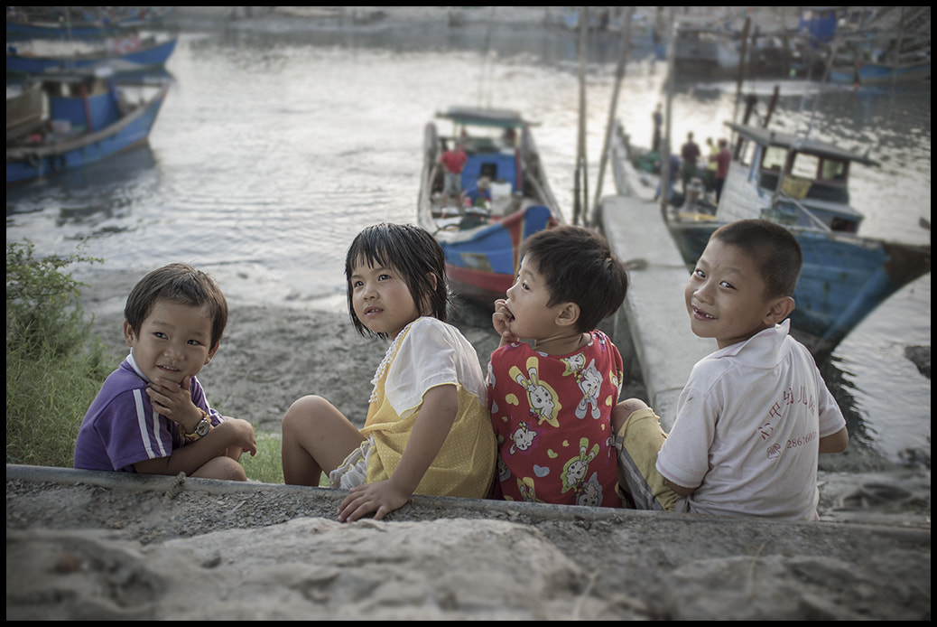 Photograph Sea&children by Raux   on 500px