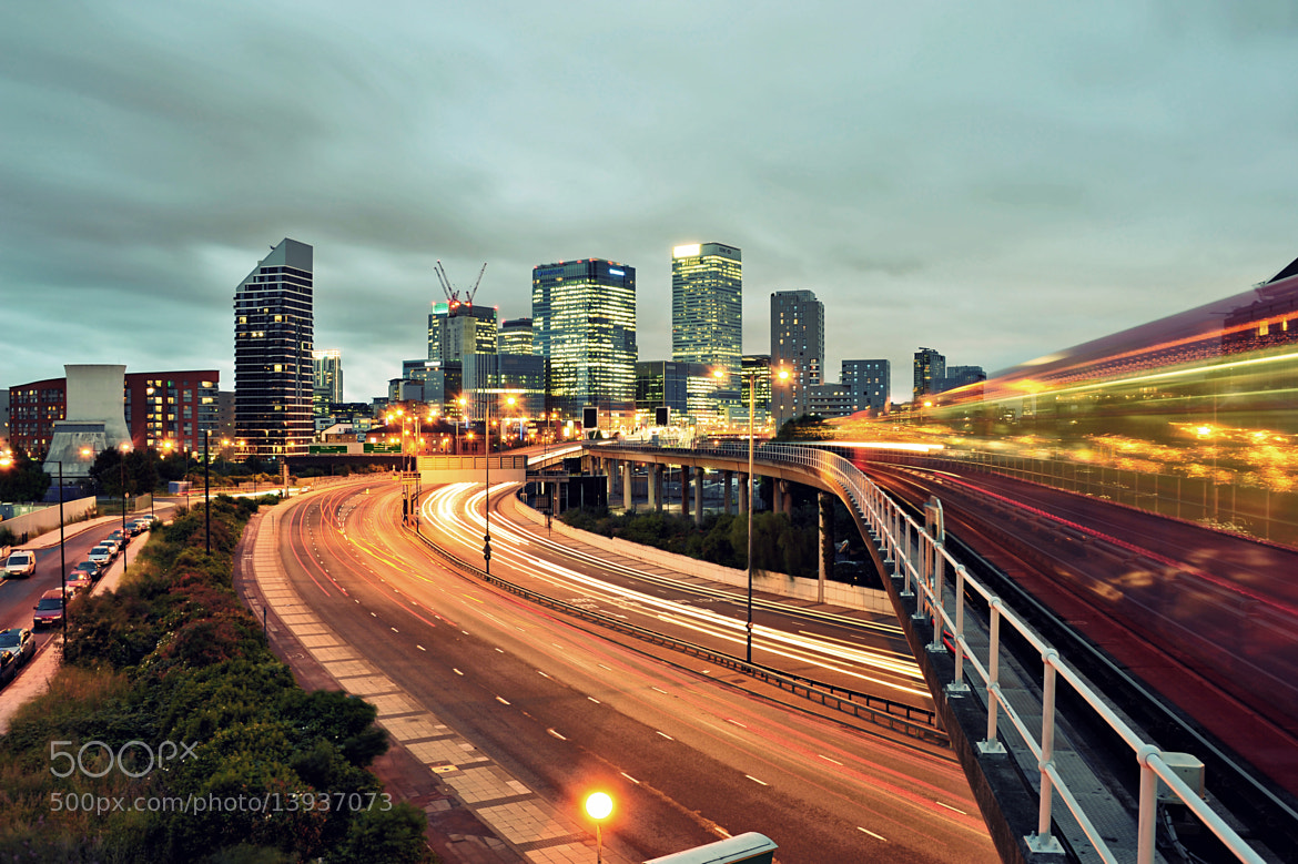 Photograph Canary Wharf by Bryan Leung on 500px