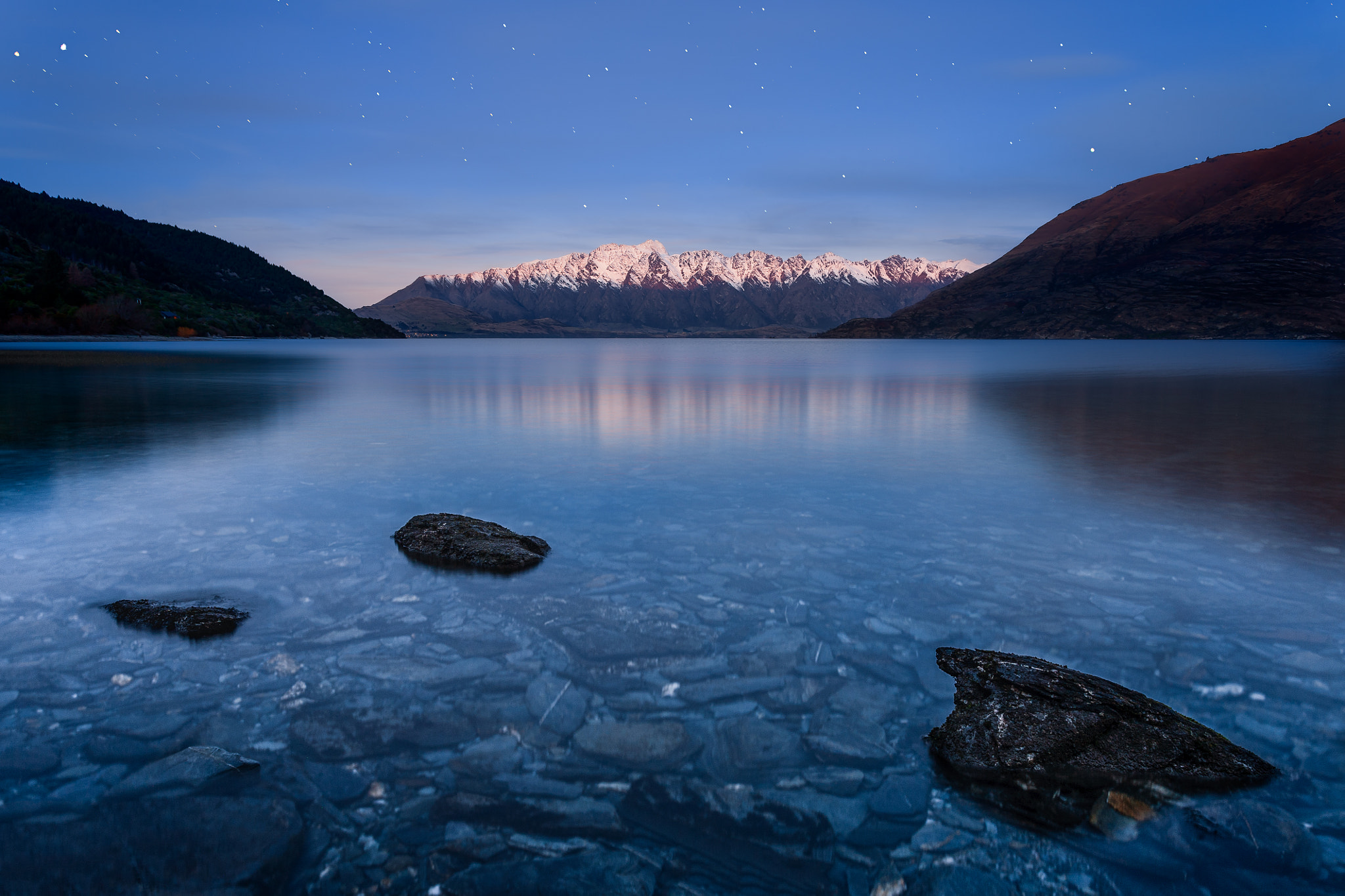 Photograph Remarkables at Night by Paul Simpson on 500px