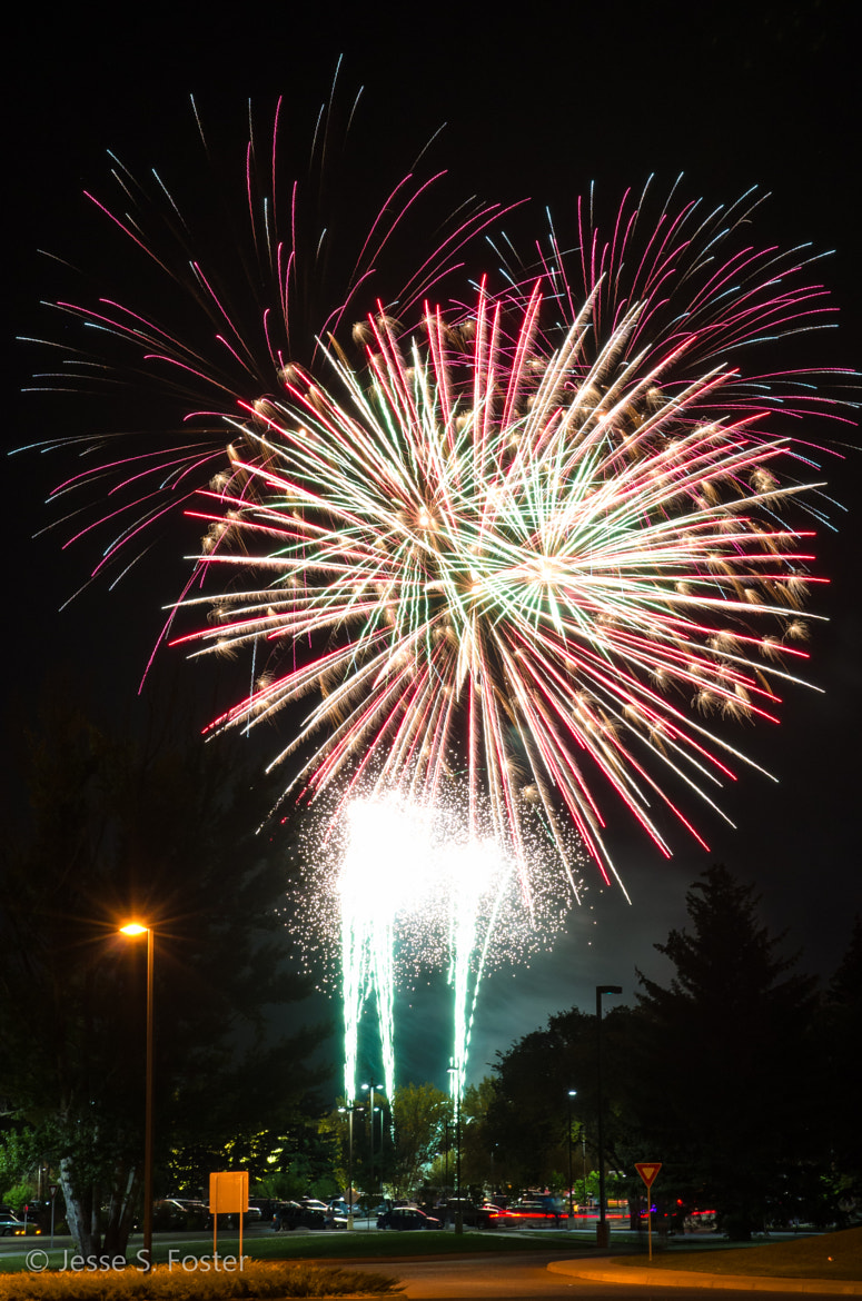 Photograph Oh, There Are Fireworks... by Jesse S. Foster on 500px