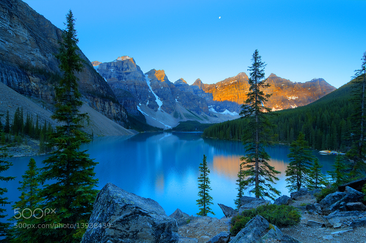 Photograph Moraine Lake by Anura Fernando on 500px