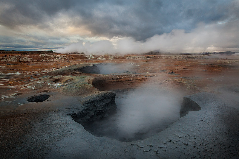 Photograph Boiling Blue Mud by Sarah Marino on 500px