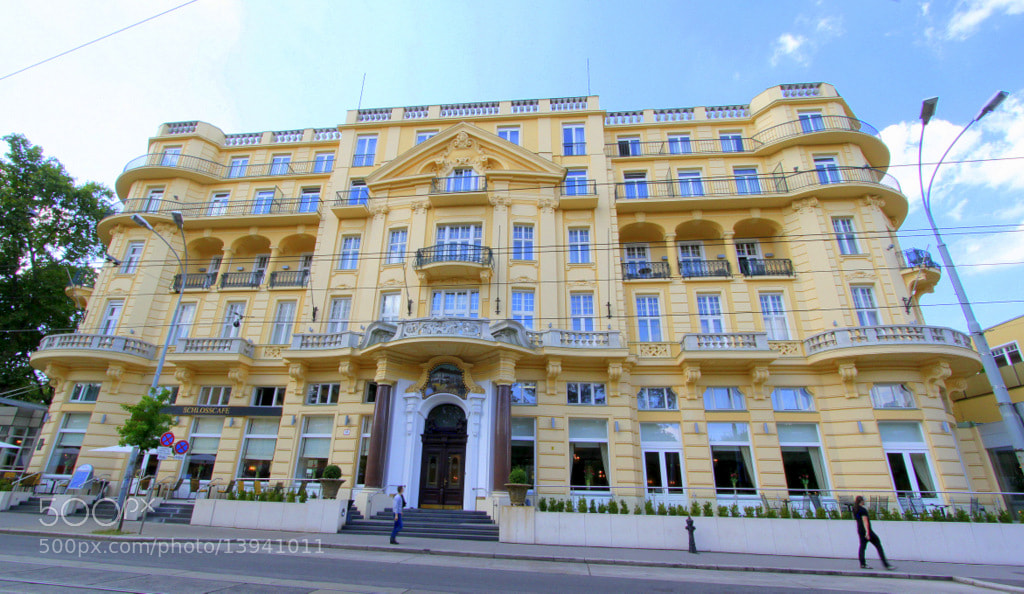 Photograph Parkhotel Schönbrunn by Rainer Leiss on 500px