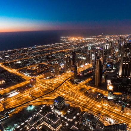 Sunset from the Burj Khalifa