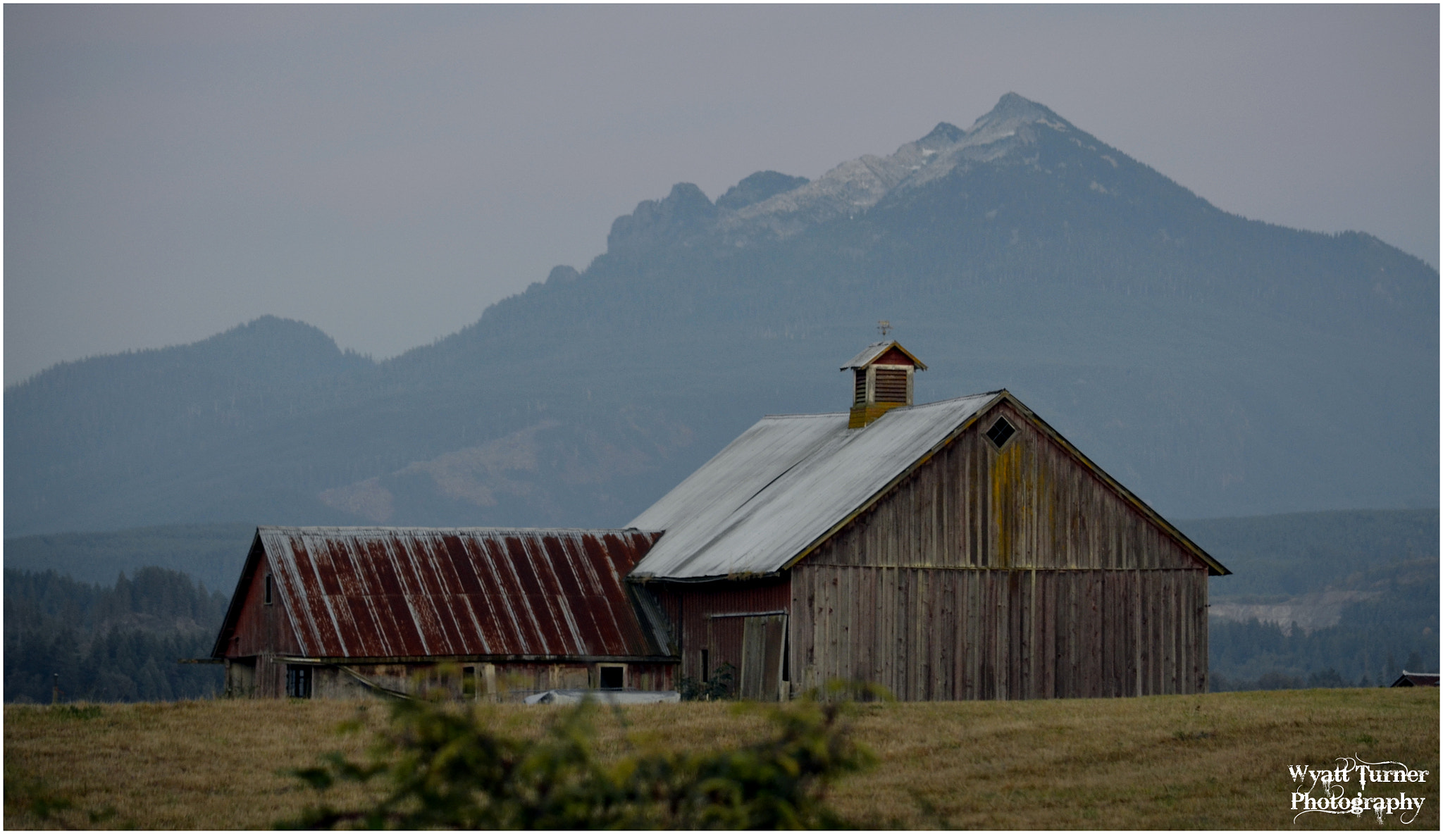 Photograph Pilchuck Barn by Wyatt Turner on 500px