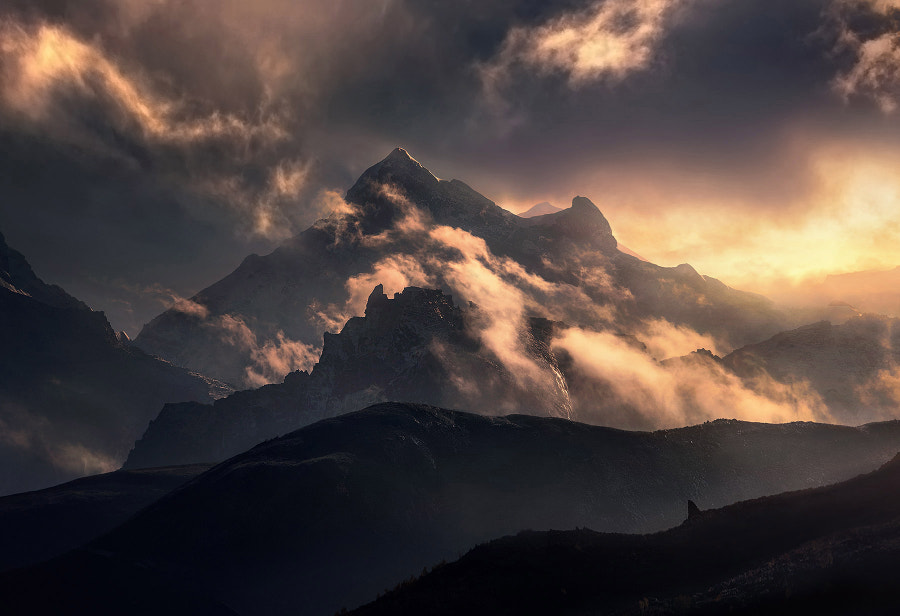 Breath of the Storm by Marc  Adamus on 500px.com