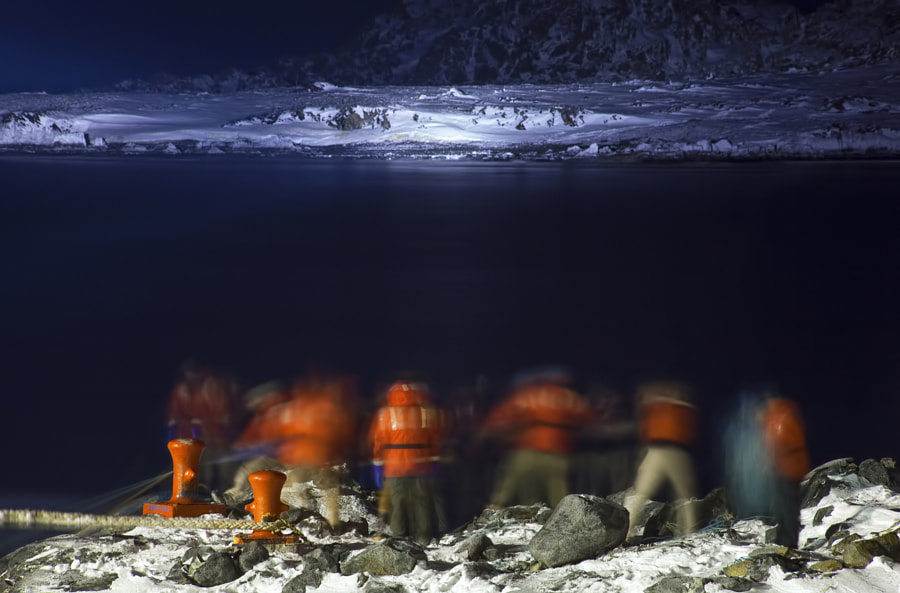 Antarctic Line Handlers by Cynthia Spence on 500px.com