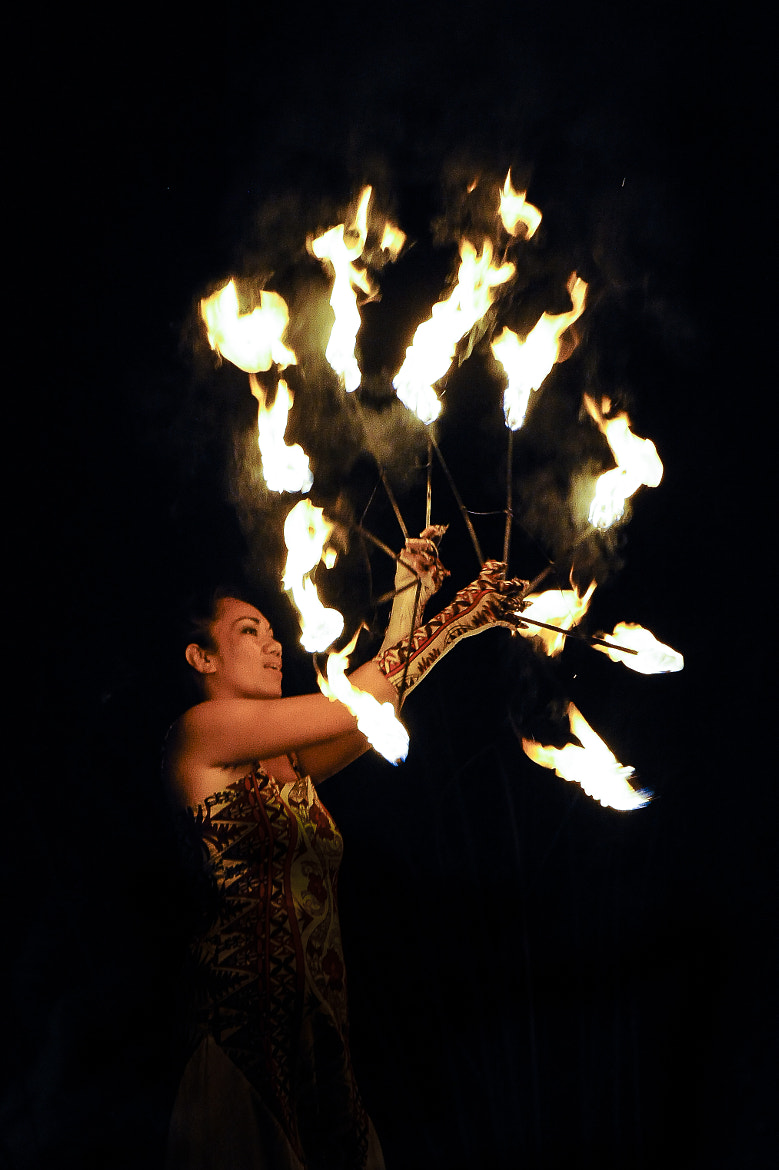 Photograph Fire Dance call Heiva by Brest Report Stéphane on 500px