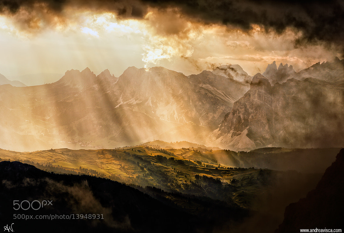 Photograph Rain of light by Andrea Visca on 500px