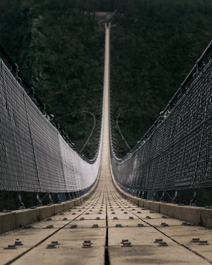 That German suspension bridge by Merlin Kafka on 500px.com
