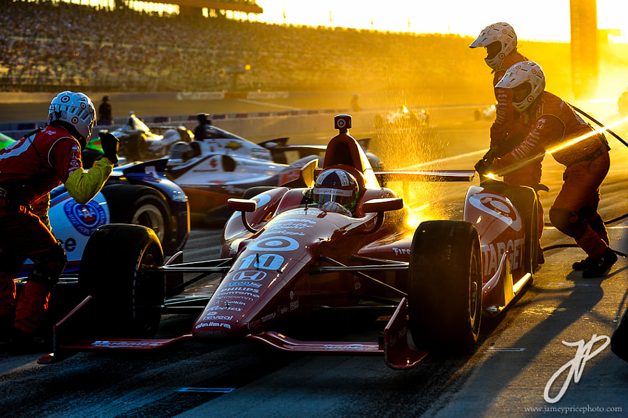 Photograph Golden Pitstop by Jamey Price on 500px