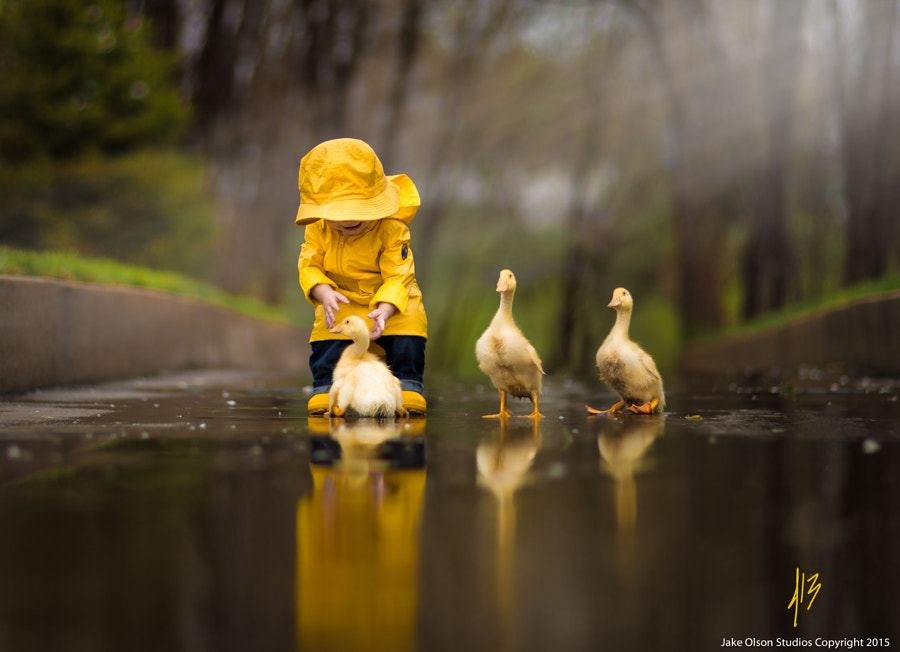 Rainy Day Friends by Jake Olson Studios on 500px.com