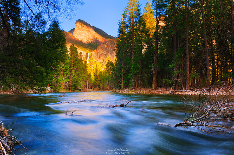 Photograph Merced River by Osamh Alshaalan on 500px