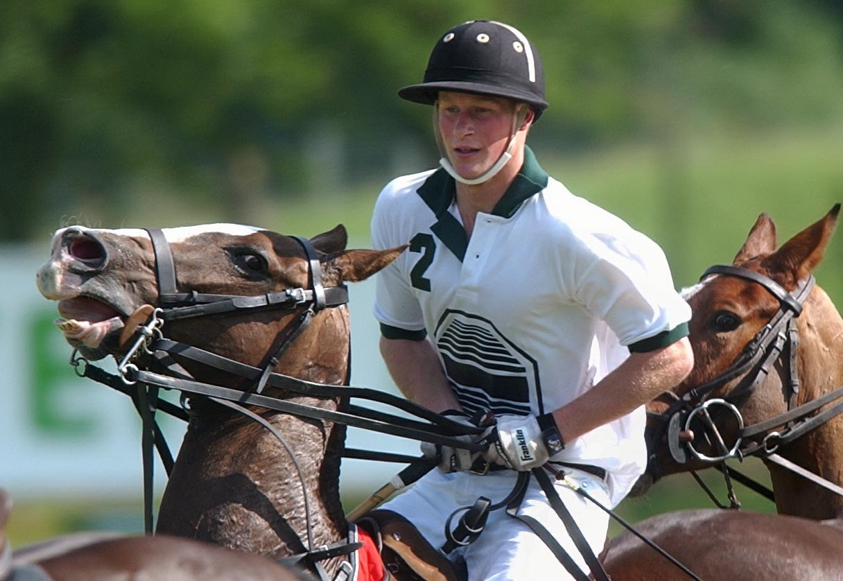 Photograph Prince Harry at Polo Match, UK by Chris Balcombe on 500px