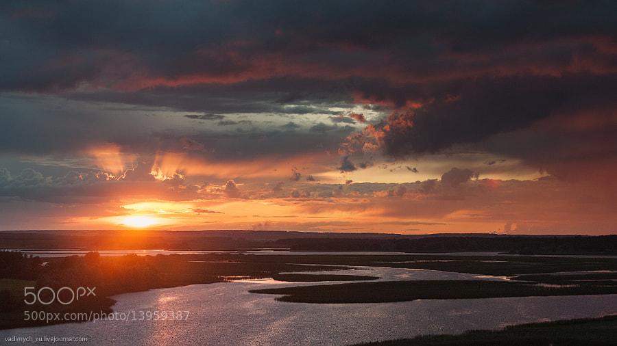 Volga sunset by Vadim Kochenkov (Vadimych18) on 500px.com