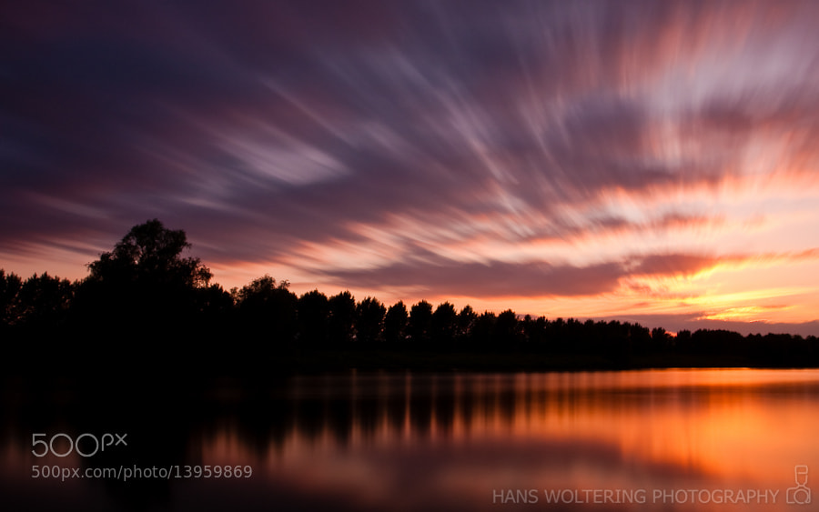Photograph Moving sunset by Hans Woltering on 500px