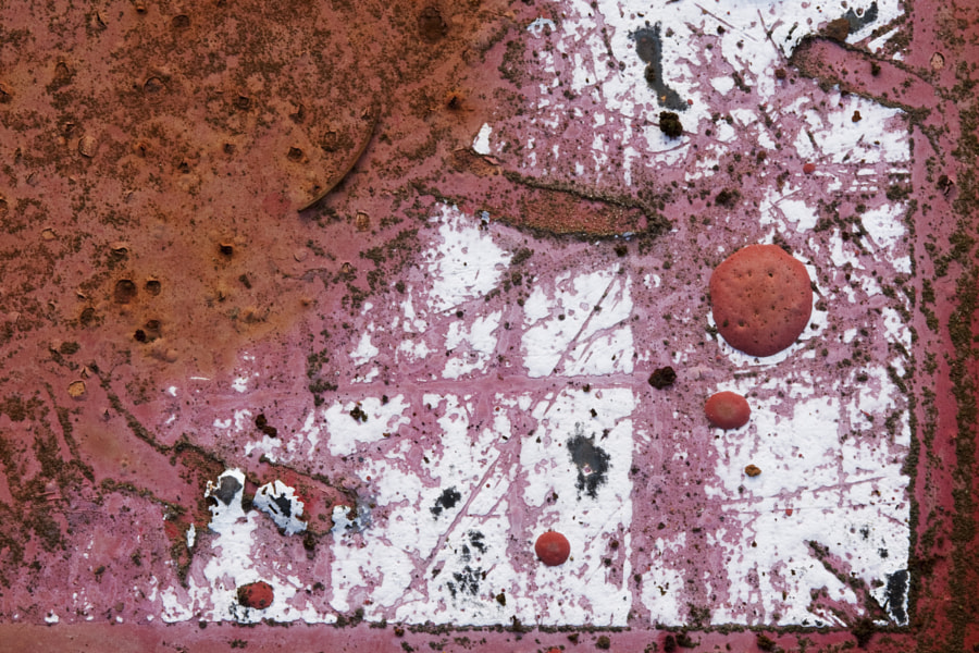 Abstract paint and rust 2
