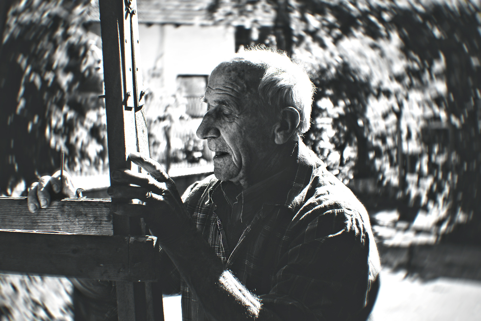 Photograph Old man face /BW/ by Aid Bešić on 500px