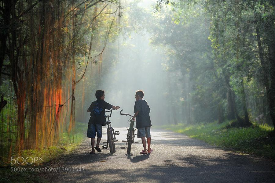 Photograph story sunday morning by dewan irawan on 500px