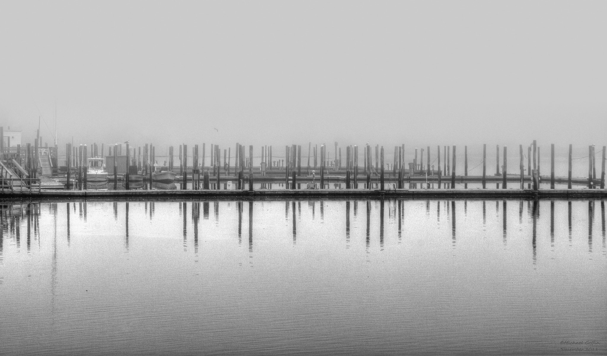 Photograph Dock in Fog by MICHAEL GOFFIN on 500px