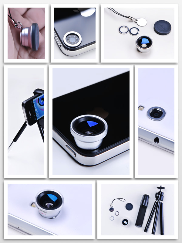 Photograph Macro & wide angle lens for Iphone by Photographyat - Products Photography & Graphic Design on 500px
