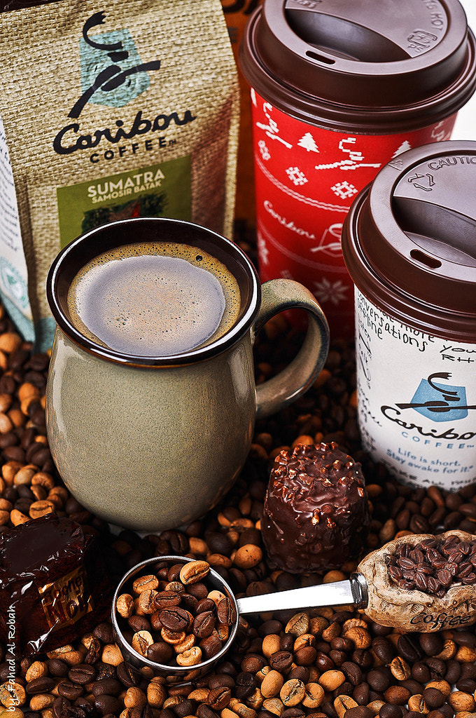 Photograph Caribou Coffee  by Photographyat - Products Photography & Graphic Design on 500px