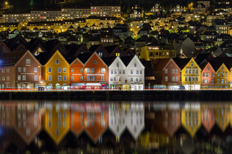 Old Wharf Reflections by Eirik Sørstrømmen on 500px.com