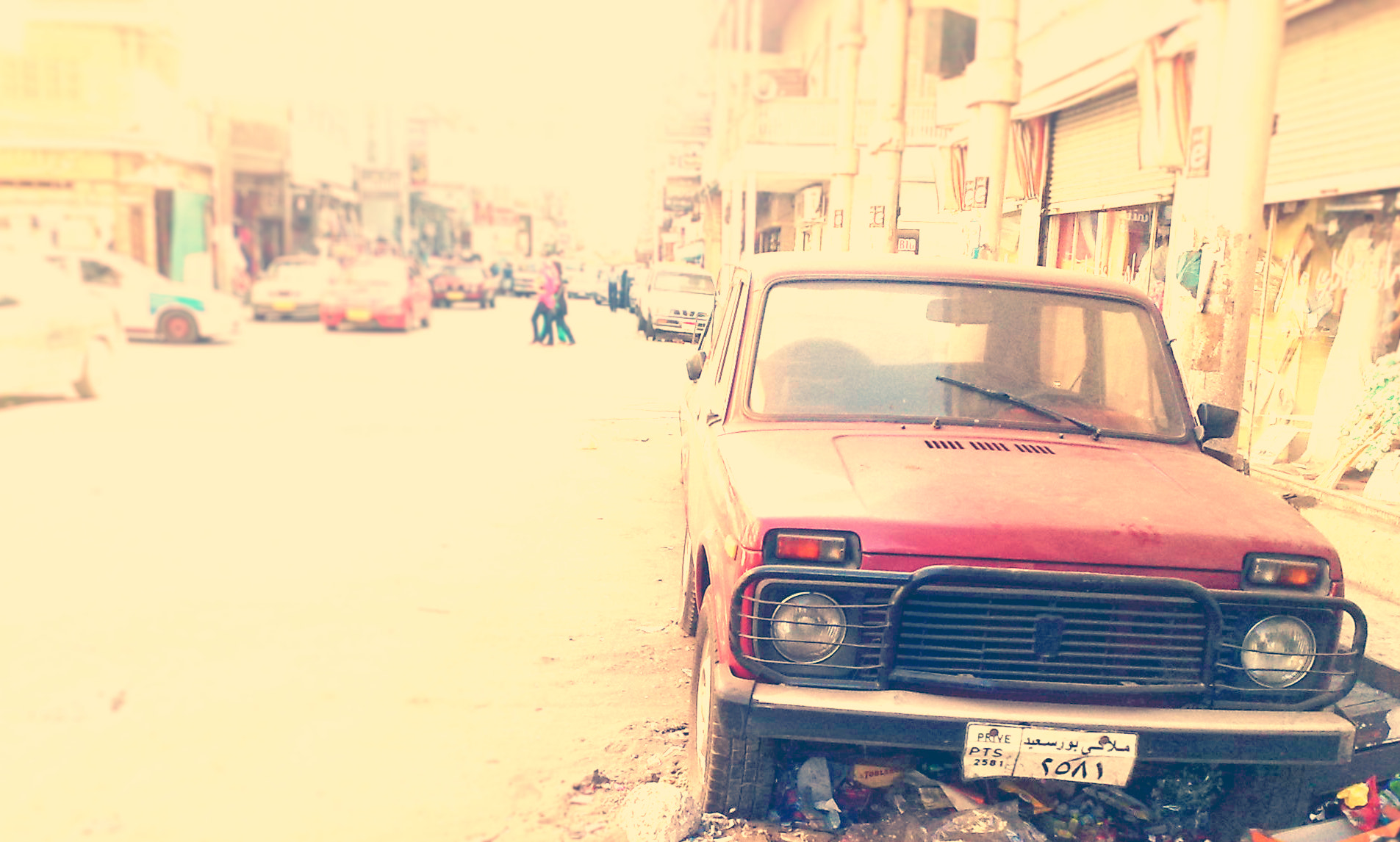 Photograph red car by Haytham Galal on 500px