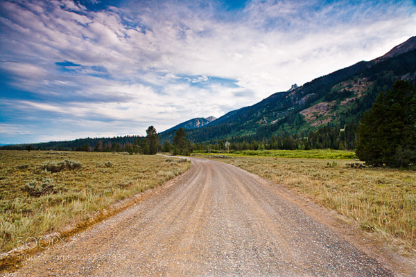 Photograph On the Road - Wyoming by Jack Booth on 500px