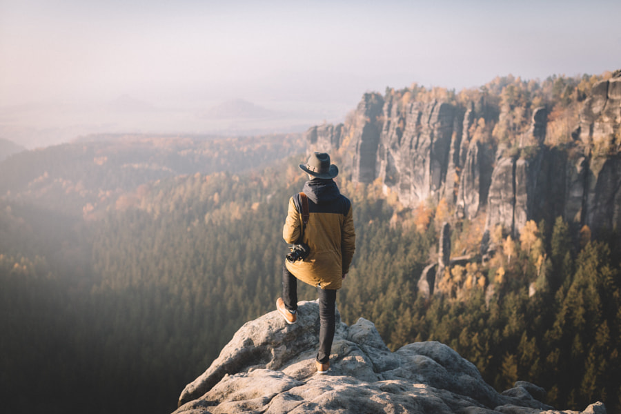 Overlooking the mountains by Johannes Hulsch on 500px.com