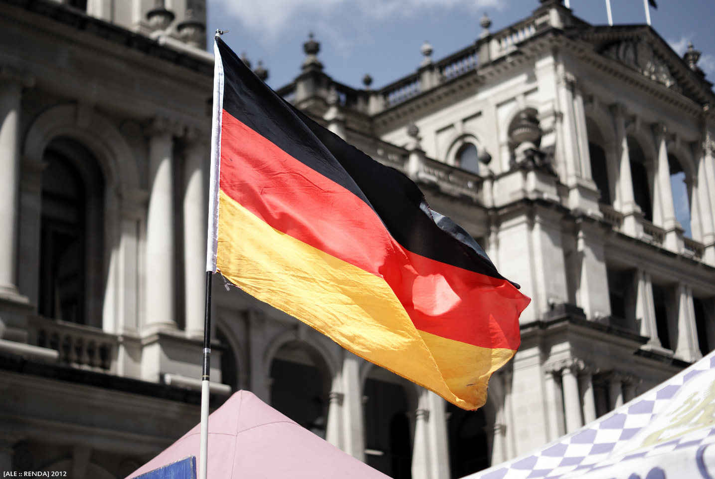 Photograph German Flag by Alessandro Renda on 500px