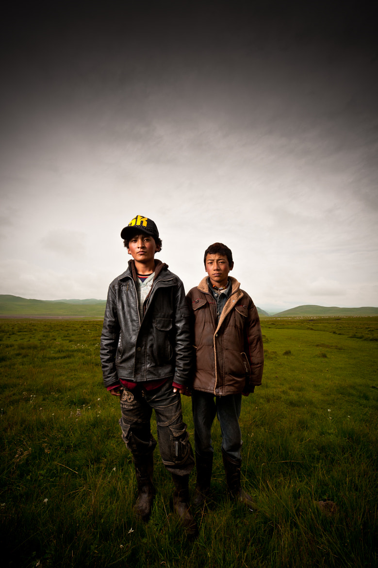 Photograph Two Nomad Herders by Brian Hirschy on 500px