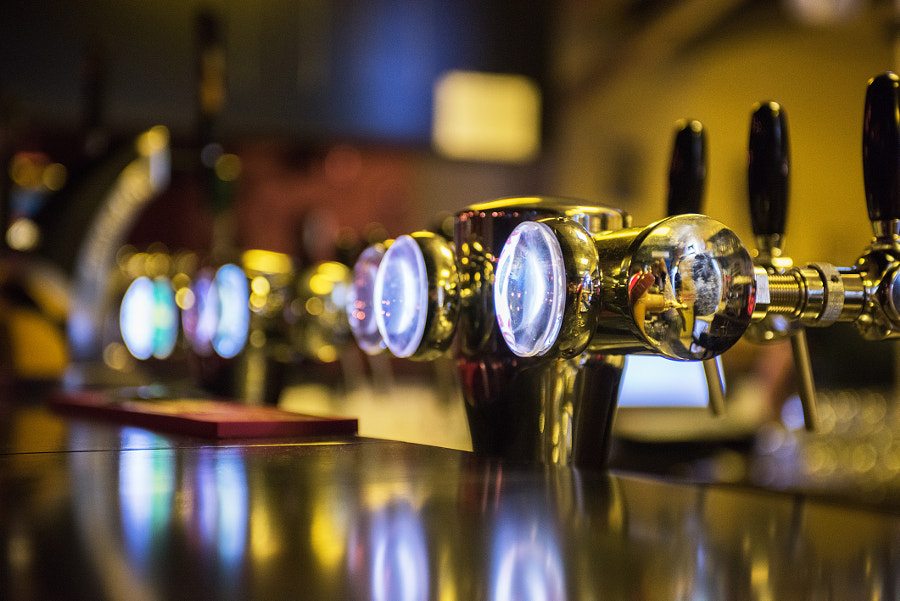 Metallic beer taps by Ruslan Olinchuk on 500px.com