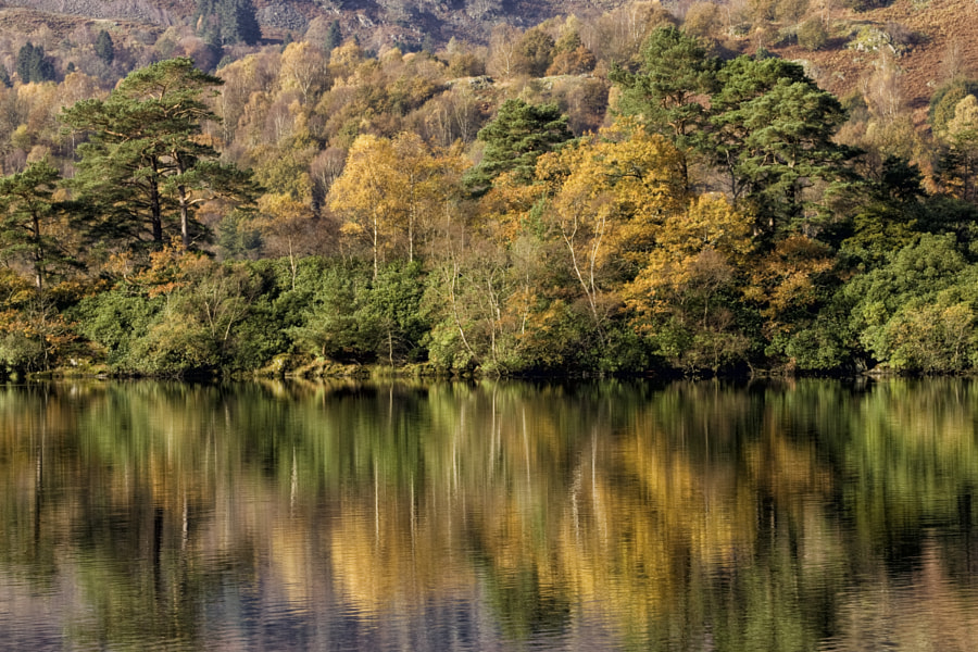 Rydal Water reflections