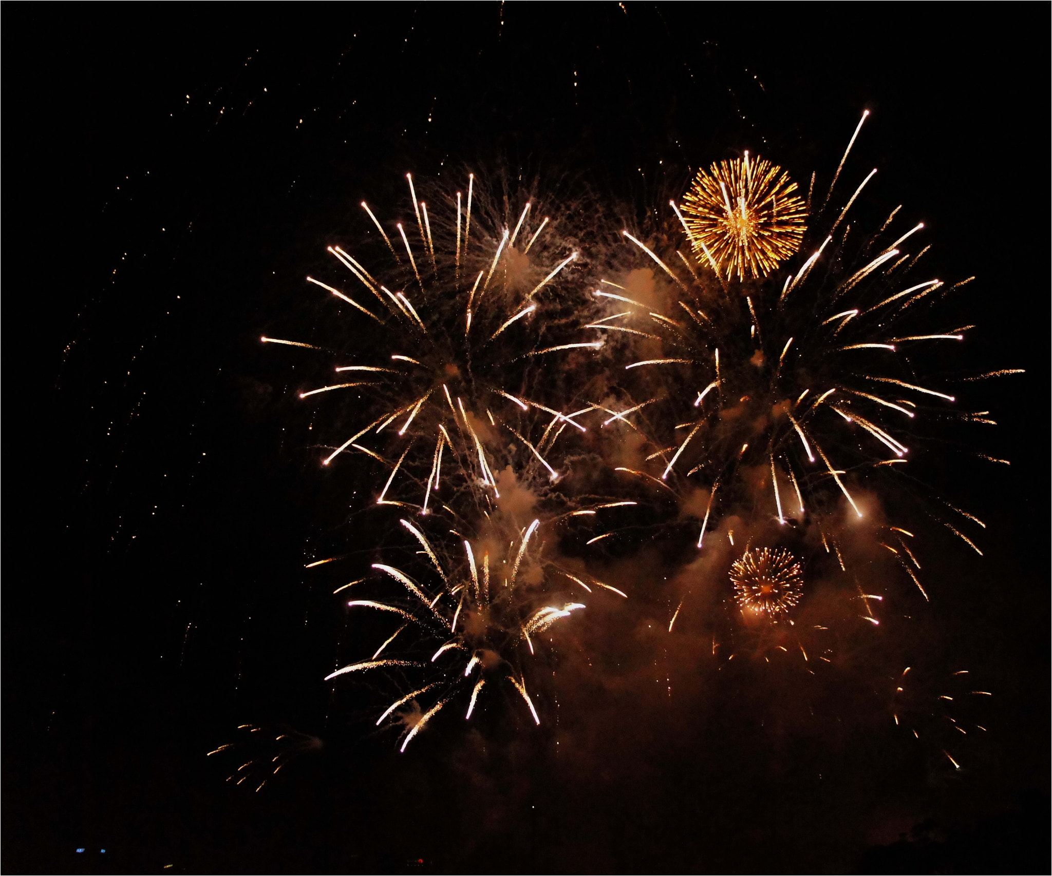 Photograph 2010 new year eve fire work by bishow joshi on 500px