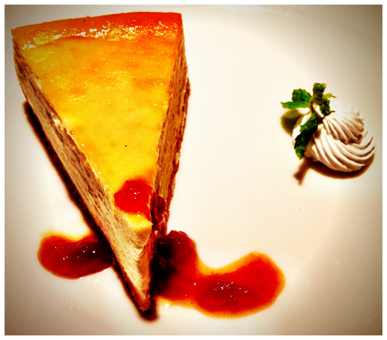 Photograph Orange & White Chocolate Cheese Cake. EPIC!!!! by Gopal Chandanani on 500px