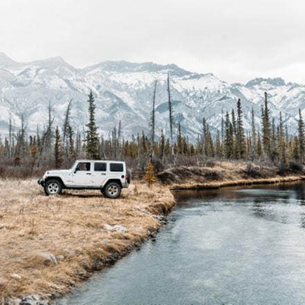 Jeep Life in Jasper, Alberta
