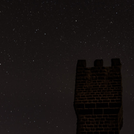 Stars above the tower