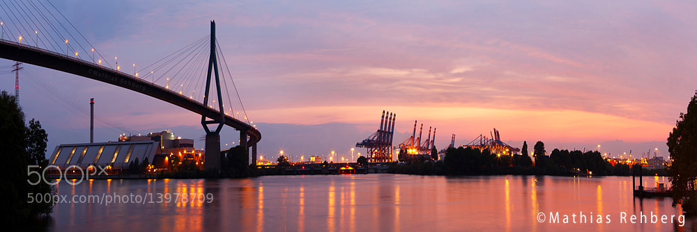 Photograph Köhlbrandbrücke by Mathias Rehberg on 500px